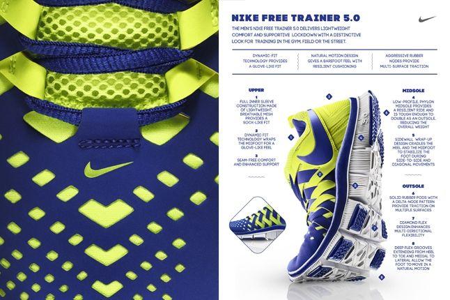Nike Free Trainer 5 0 Volt Neon Flyer Toe Detail 1