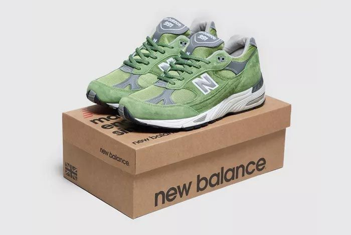 New Balance 991 Made In England Green Box