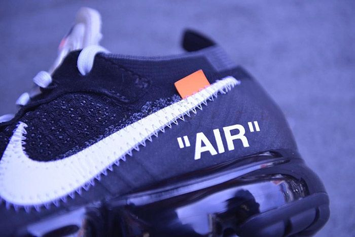Off White Nike Vapormax Black 6