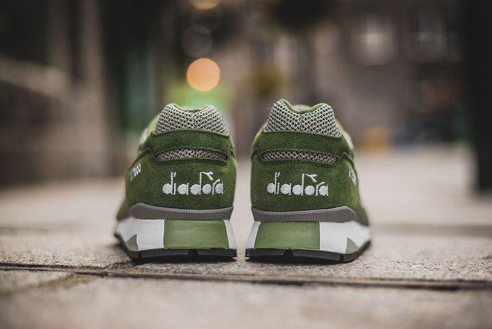 Diadora V7000 Weave Green2