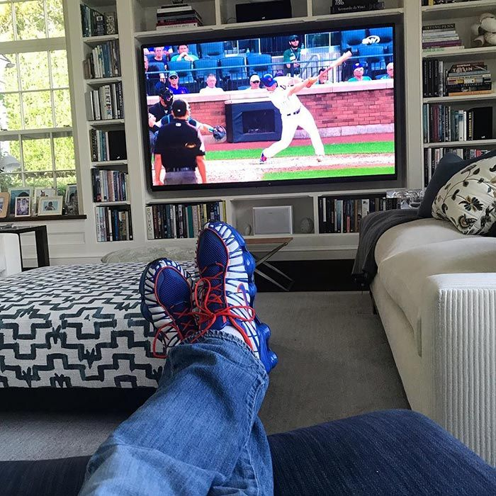 Jerry Seinfeld Signature Nike Shox Tl On Foot Television