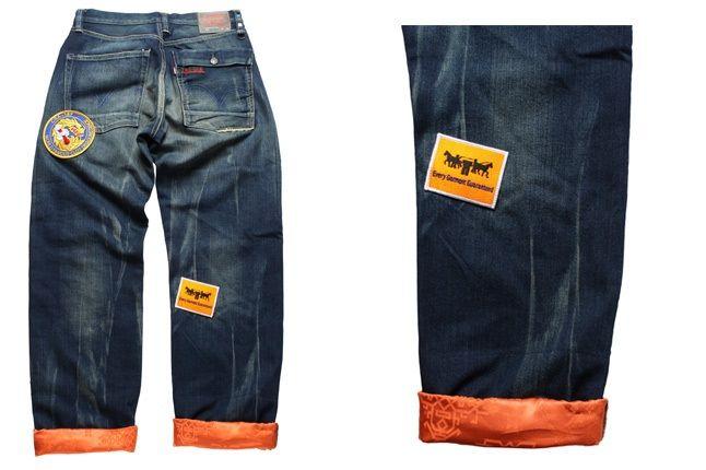 Clot Levis Orange 6 1