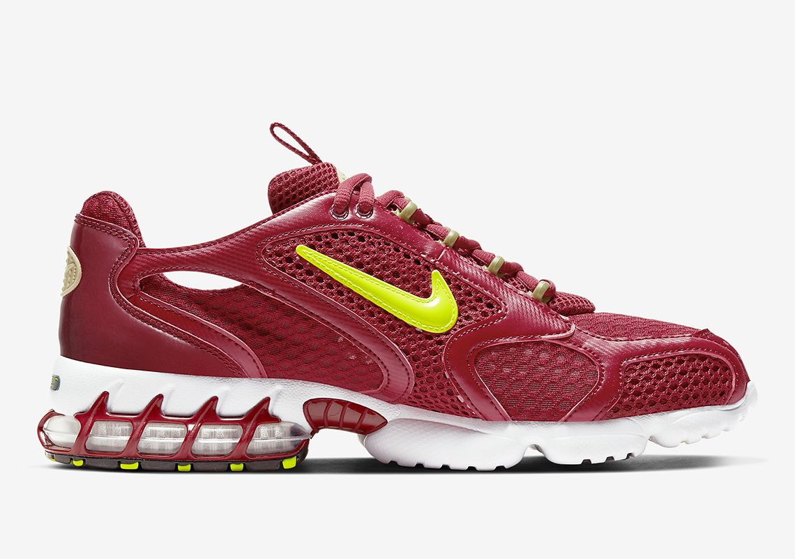 Nike Zoom Spiridon Cage 2 Team Red Right
