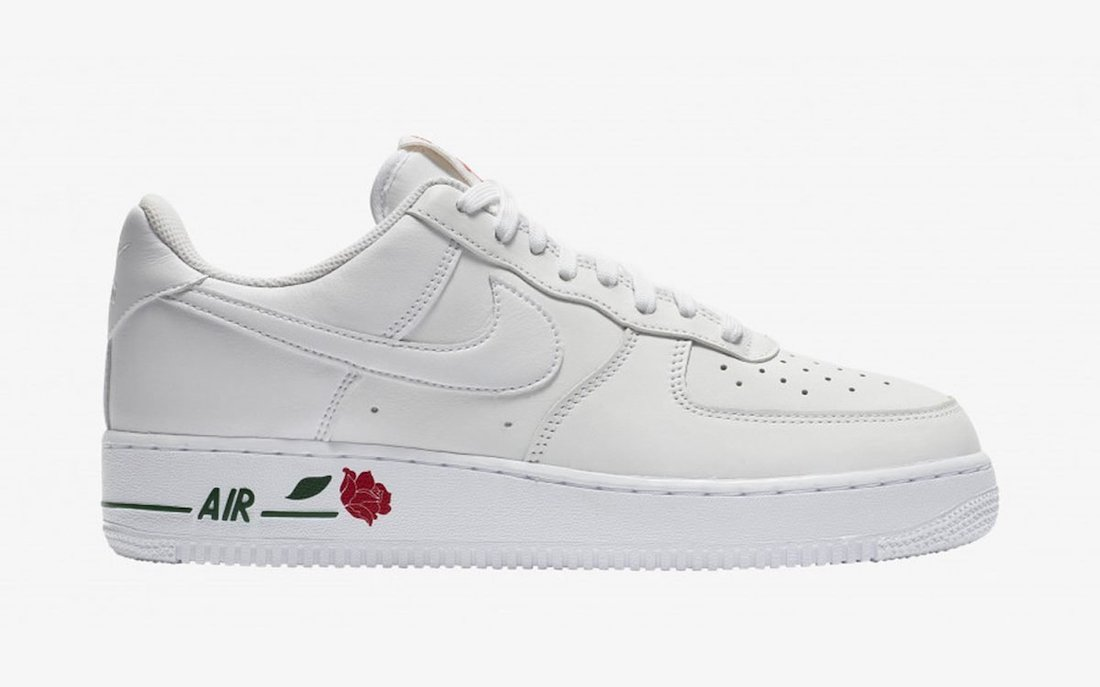 Nike Air Force 1 Rose White