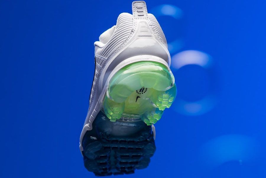 Nike Air Vapormax 360 Summit White Full Heel