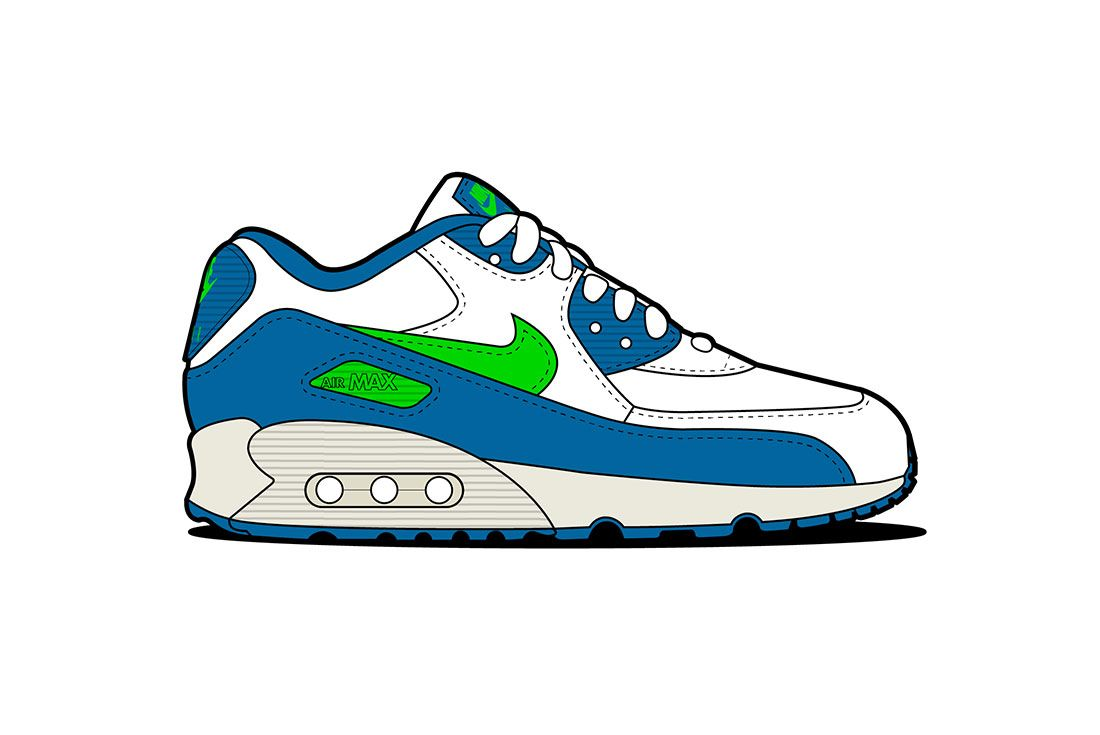 Air Max 90 04 Seahawks