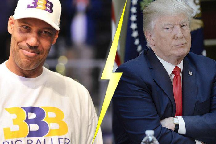 Lavar Ball Trump Sneaker Freaker