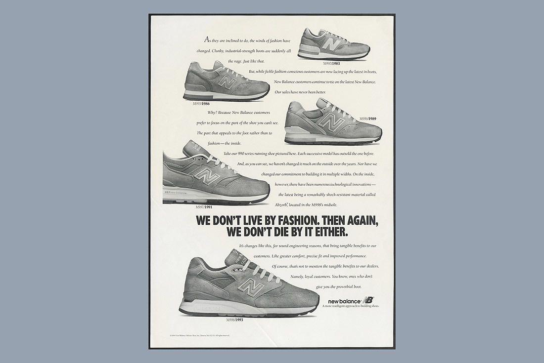 New Balance Grey Ad 1