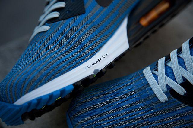 Nike Air Max Lunar 90 Jacquard Grey Blue 1