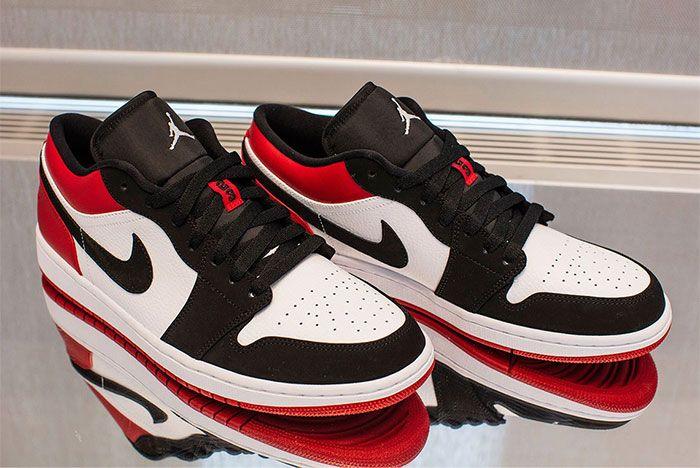 Jordan 1 Black Toe Low 2