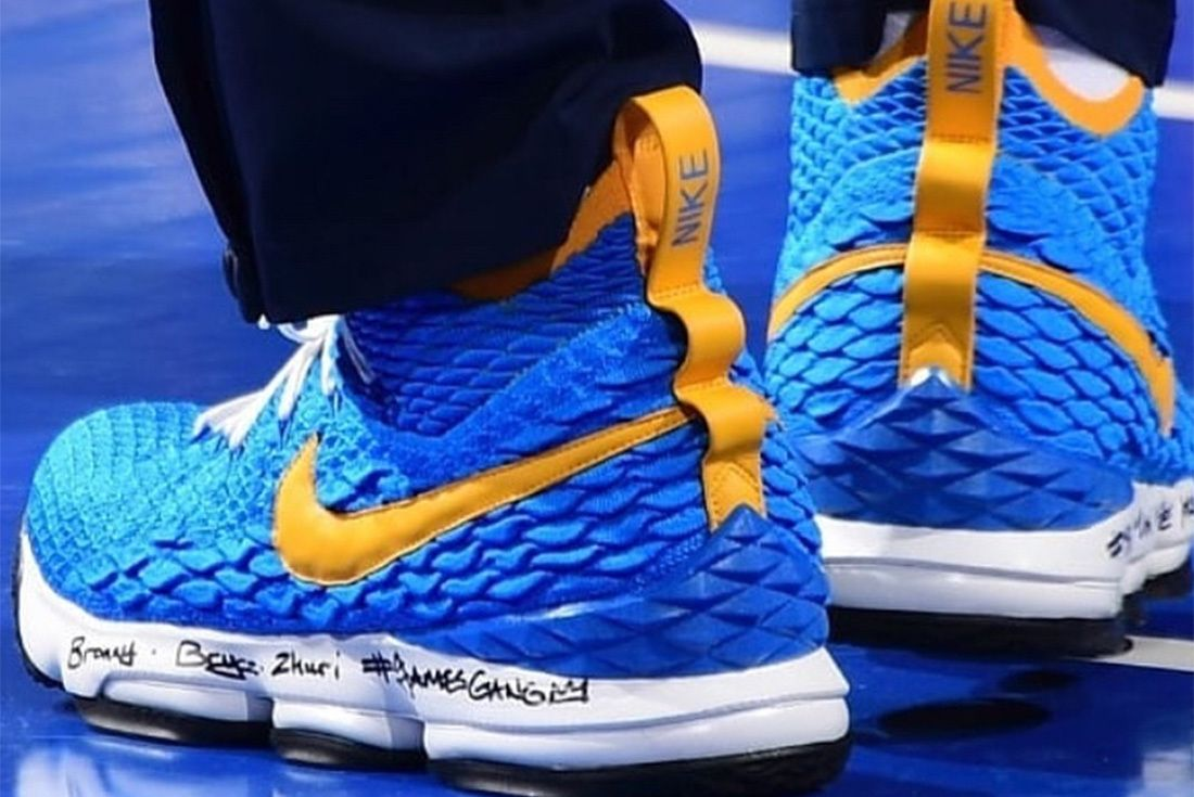 Nike Le Bron 15 Pe Waffle Racer Le Bron James Sneaker Freaker 6