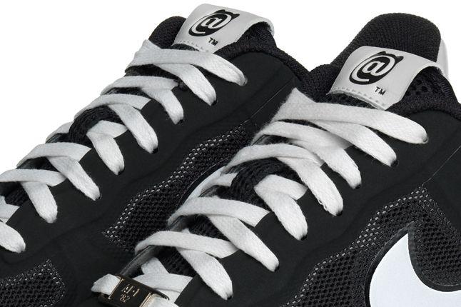 Nike Lunar Force 1 Medicom Black Pair Details 1