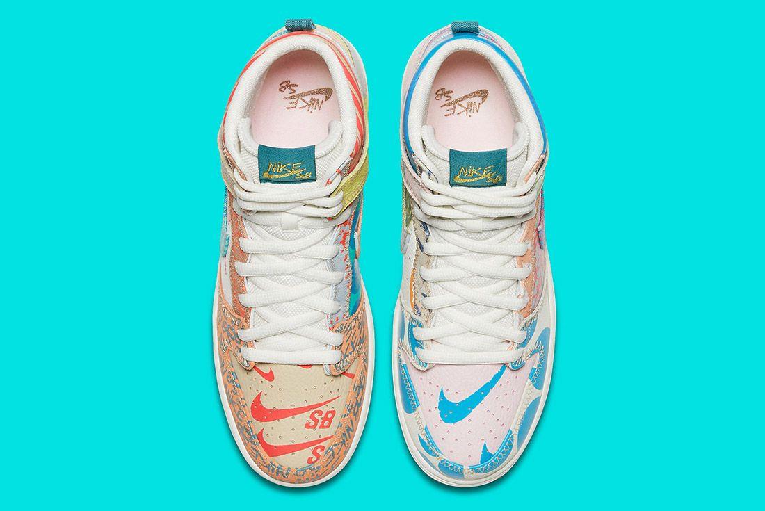 Nike Sb Zoom Dunk High Premium What The 4