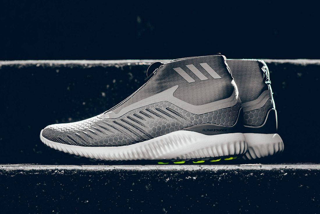 Adidas Alphabounce Zip  Grey