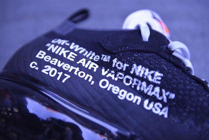 Off White Nike Vapormax Black 4