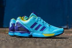 Adidas Originals Zx Flux Techfit Og Aqua 1