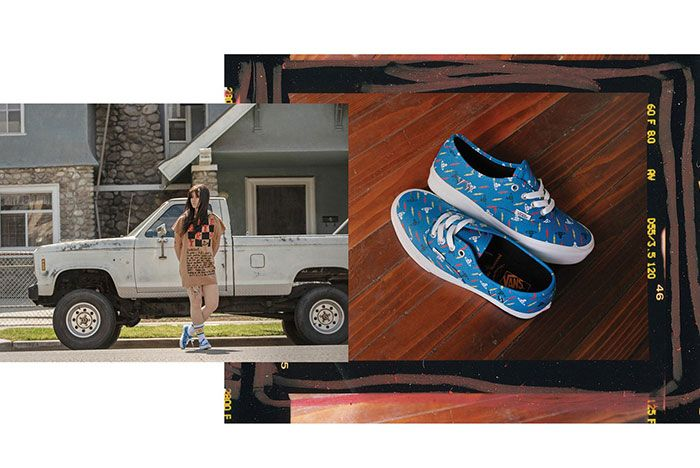 Vivien Westwood Vans Lookbook2 Authentic