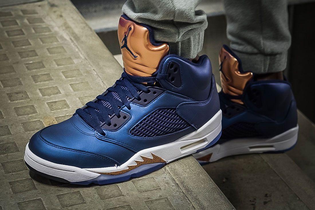 Air Jordan 5 Bronze 12