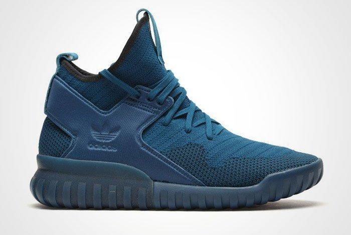 Adidas Tubular X Primeknit Tech Steel Blue Thumb