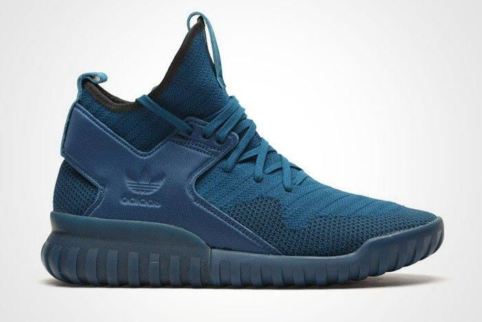 Adidas Tubular X Primeknit Tech Steel Blue Thumb