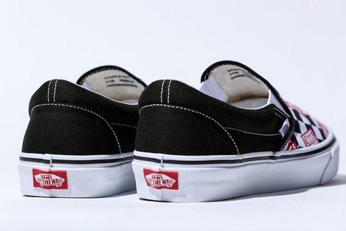 Billys Vans Slip On Off The Wall Check Release Date 3 Sneaker Freaker