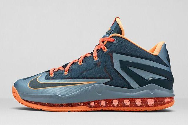 Nike Lebron 11 Low Magnet Grey 1