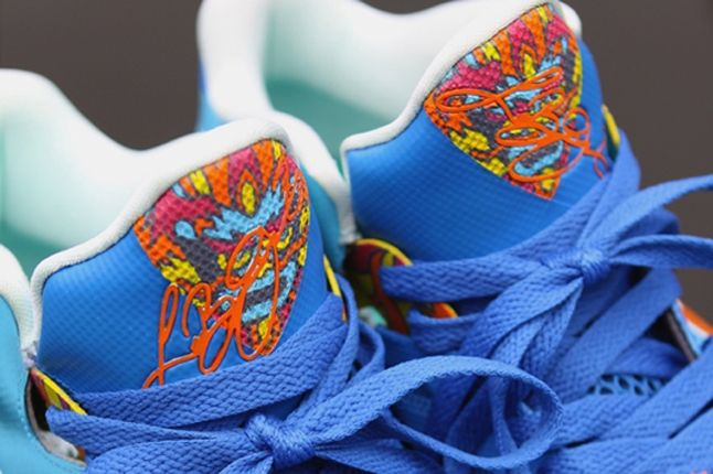 Nike Lebron 9 Custom By Kurtzastan Tongue 1