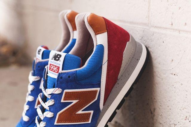New Balance 996 Brown Blue 2