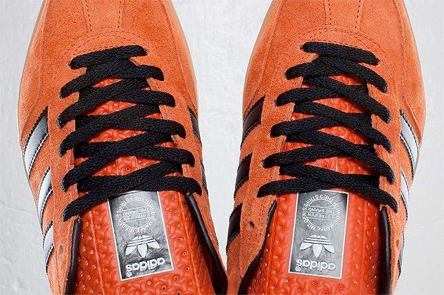 Orange Adidas Gazelle Indoor Top View 1
