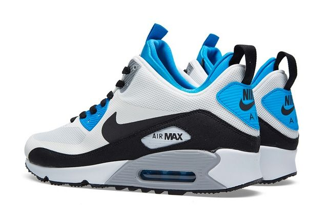 Nike Air Max 90 Sneakerboot Royal Blue 1