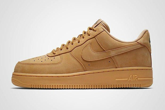 Nike Air Force 1 Low Flax Wheat Brown Thumb