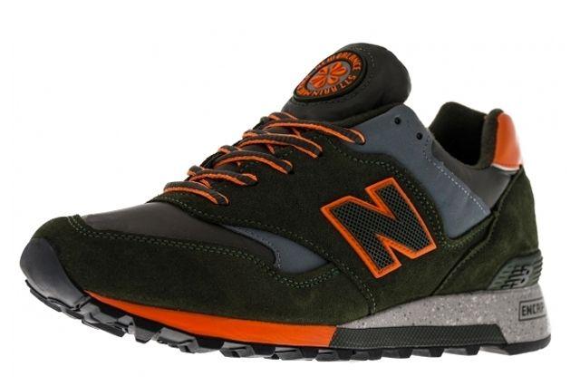 New Balance M577 Moo Orange Black Angle
