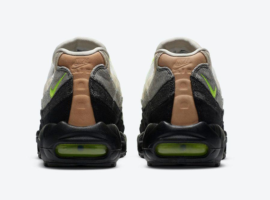 Denham Nike Air Max 95 Volt Heel
