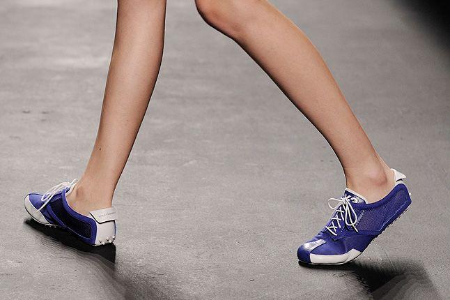 Y3 Purple Female Sneakers Low 1
