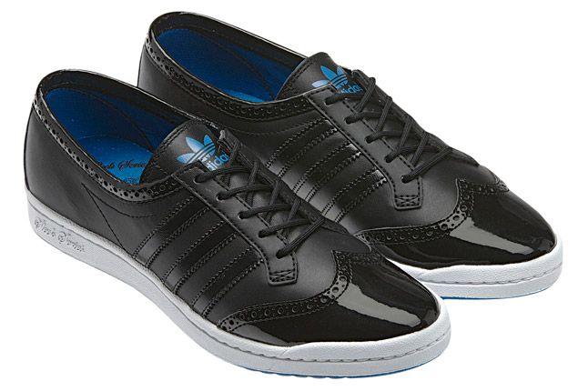 Adidas Top Ten Low Sleek Brogue Black Pair 1