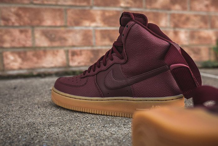 Nike Air Force 1 High Night Maroon Womens 3