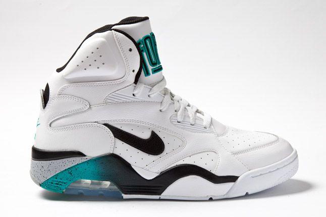 Nike Force White Teal 01 1