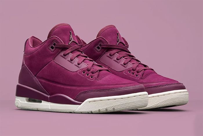Wmns Air Jordan 3 Bordeaux 6