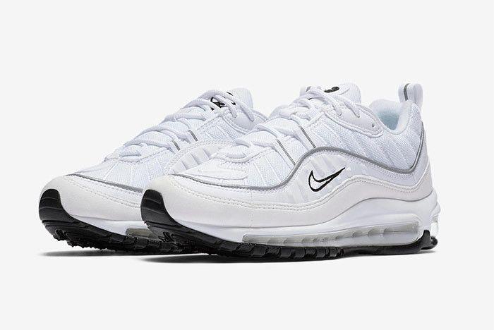 Nike Air Max 98 White 1