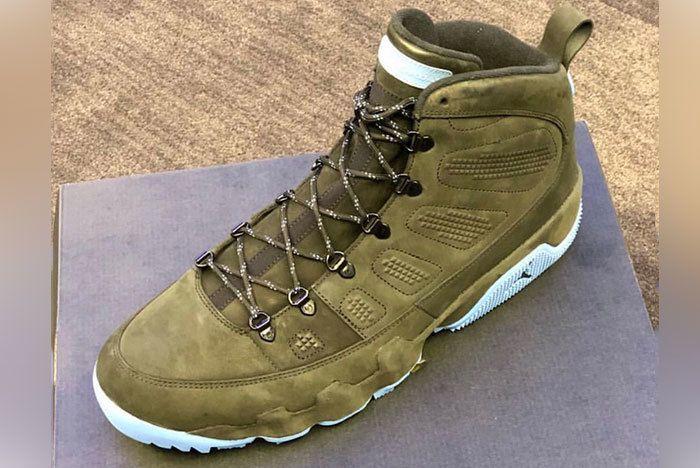Air Jordan 9 Boot Unc Tar Heels Pe 1