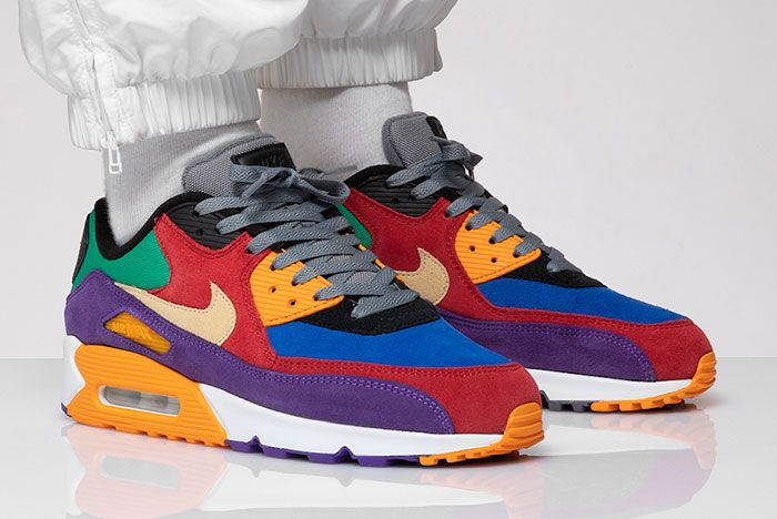 Nike Air Max 90 Viotech Cd0917 600 Front Angle