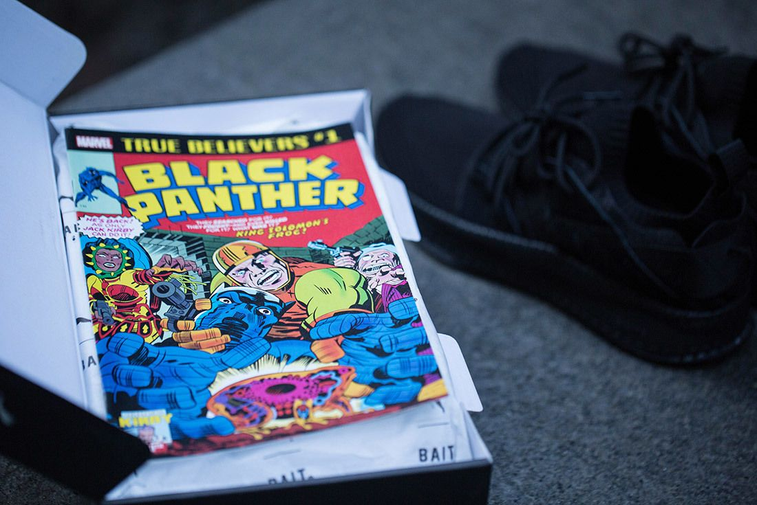 Bait Puma Black Panther Sneakers 7