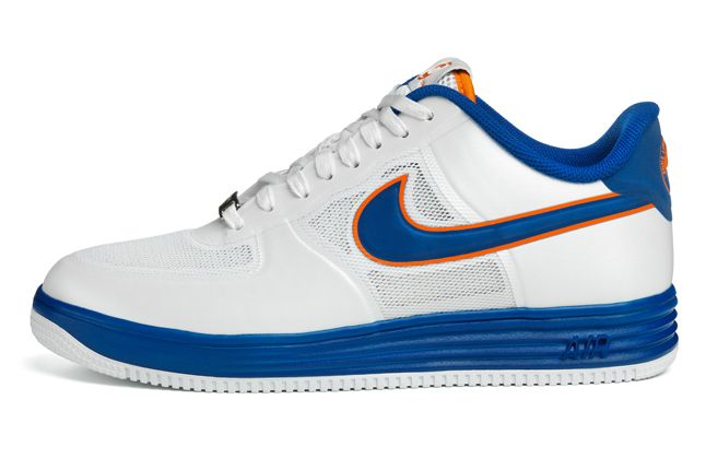 Nike Lunar Force 1 Medicom White Side 1