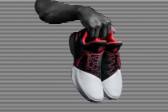 Adidas Harden Vol 1 Black White 2
