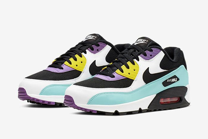 Air Max 90 Nike One Time Only Inspired Aj1285 0244 Side Pair