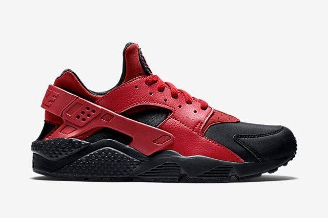 Nike Huarache Gym Red Black 4