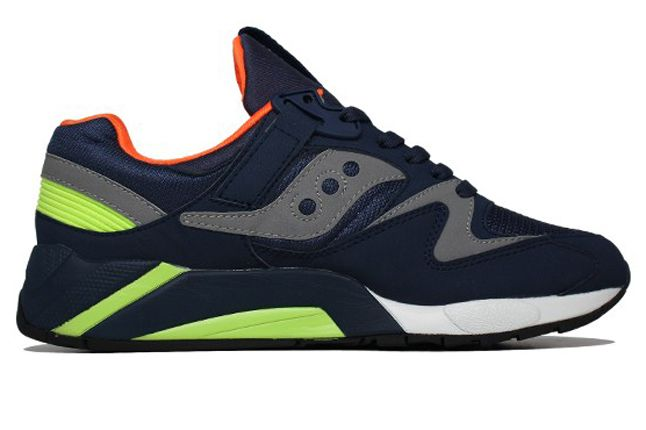 Saucony Grid 9000 Citron Side 1