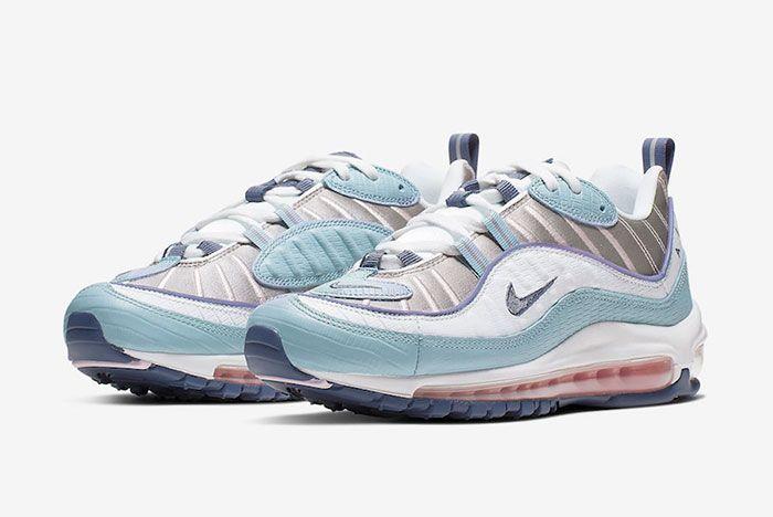 Nike Air Max 98 Ck0832 500 Three Quarter Shot