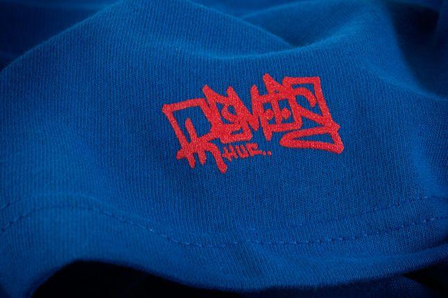 Huf X Remio Tee Blue Sleeve Detail 1