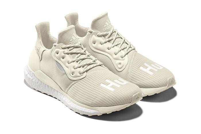 Pharrell Adidas Solarhu Greyscale Pack Off White Eg7767 Release Date Pair
